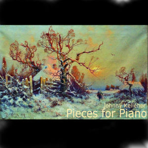 cover of album, pieces for piano
